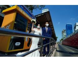 Chụp ảnh cưới mùa Covid-19