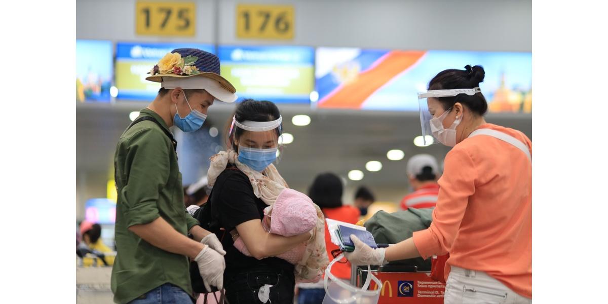 chuyến bay đặc biệt thứ hai mang số hiệu VN5062 của Hãng hàng không Việt Nam (VNA) đưa hơn 280 công dân Việt Nam trong đó có 17 trẻ em đã cất cánh rời sân bay Sherementyevo ở thủ đô Moskva, LB Nga trở về nước
