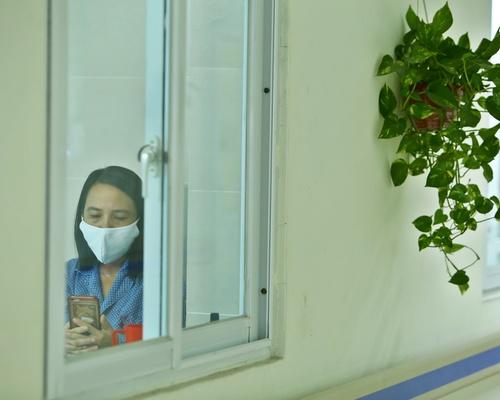 Khu cách ly người Việt Nam có kết quả xét nghiệm âm tính tại bệnh viện Thanh Nhàn