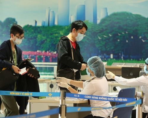 Những ngày tháng lịch sử của sân bay Nội Bài