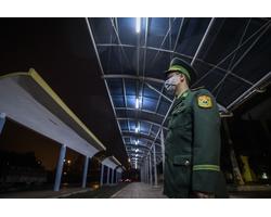 Bộ Ảnh: Ga Đồng Đăng đìu hiu trước chuyến tàu cuối cùng trong nạn dịch corona