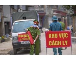 Cách ly cả thôn ở Thường Tín
